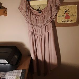Womens Torrid Crocheted Lace Dress